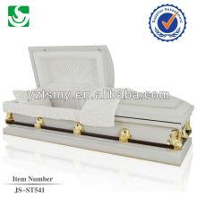 JS-ST541 Chinese cheap steel casket