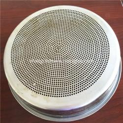 Galvanized/SS Perforated Metal Standard Testing Sieve
