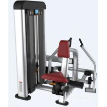 Máquina de enfileiramento sentada do equipamento comercial do Gym com o novo projetado