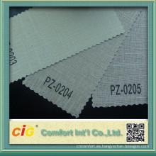 Protectores solares de PVC poliester tela de protección solar
