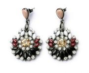 imitation diamond jewelry fashion earring