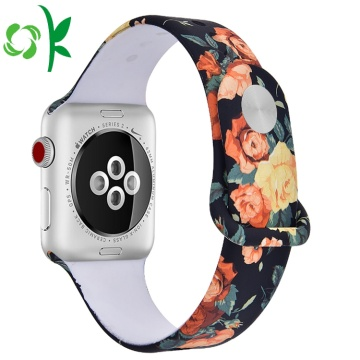 Originaltryck Flora Wrist Silicone Smart Watch Straps