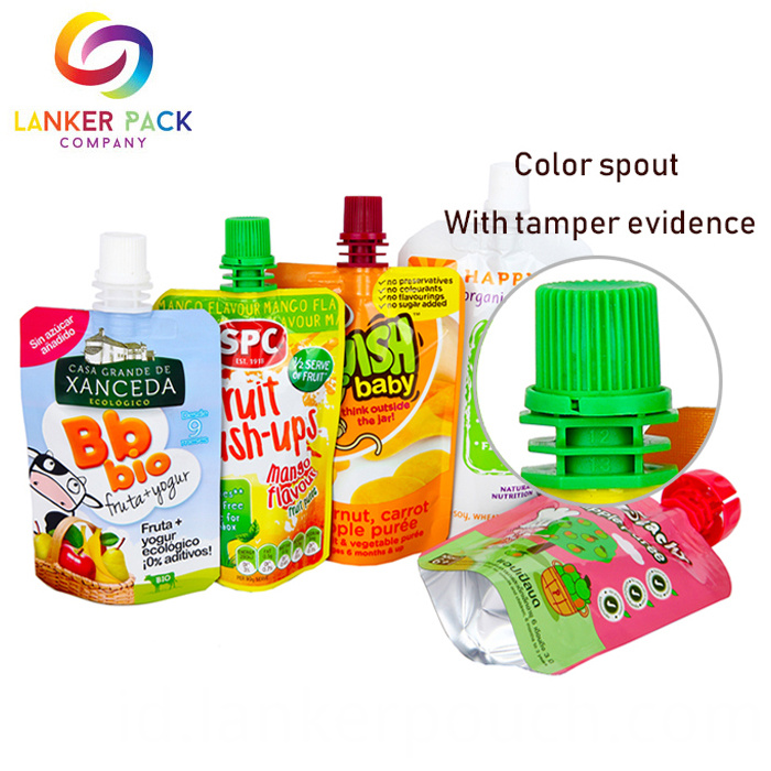 Wholesale Plastic Standing Up Spout Pouch For Liquid