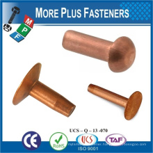 Made in Taiwan Round Head Rivet POP Rivet River Screw Copper Rivets