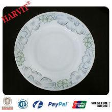 Spin Shape Glassware Opal Plate