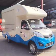 2017 best seller boa qualidade food van ice cream truck