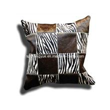Патч подушки из натуральной кожи натуральной кожи