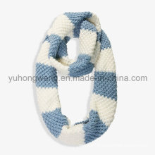 Handmade acrílico malha crochet cachecóis, cachecol