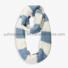 Ручной акриловый трикотажный шарф вязания крючком, шарф