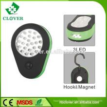 24 LED-Taschenlampe multifunktional mit magnetischem Griff führte Arbeitslicht