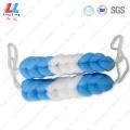 Handle soft sponge mesh bath belt
