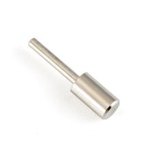 Peças de torneamento personalizadas de eixo de pino de metal em aço inoxidável