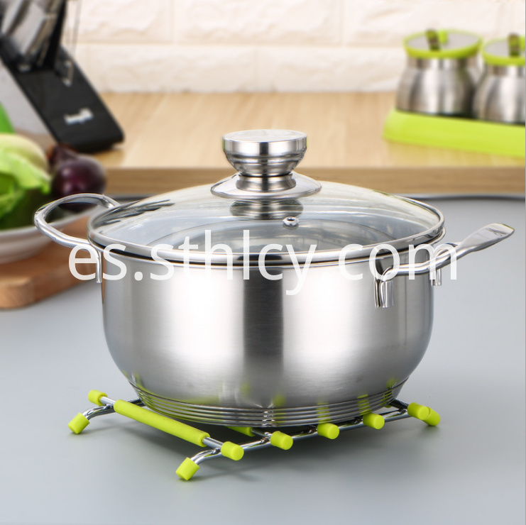 Stainless Steel Cookware Set4