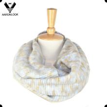 2016 Новый дизайн пространства окрашенные вязания шеи шарф типов