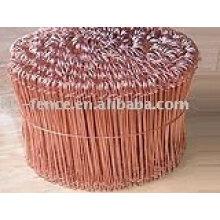 alambres de cobre
