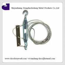 3/4*5.8m forged Korea type heavy duty metal hook and eye