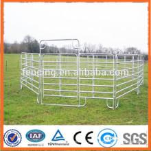 Usado caliente galvanizlived ganado caballete panel de corral de caballos para el mercado de Australia