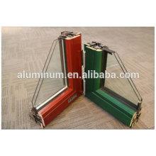 Frame de janela de vidro de madeira de alumínio superior da porcelana