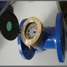 ISO4064 Classb Iron Body Woltmann/Industrial Flanged Water Meter