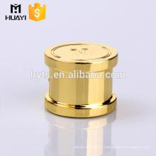 Top Quality Luxury Zamac Perfume Cap for Perfume Bottle