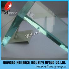 Klar Floatglas für Gebäude