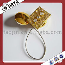 Magnetic curtain tie back,hooks,curtain tieback with iron