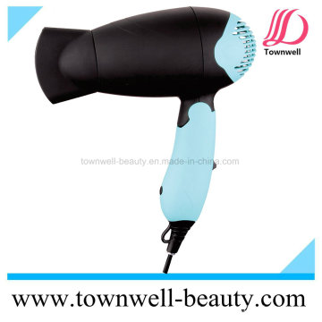 New Foldable Mini Travel Dryer with Concentrator and Diffuser, 1000W