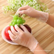 Пищевая перчатка из ПВХ