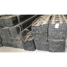 MS erw galvanisierte quadratische Rohre Rechteckrohre ASTM A500 / Gr B / Q235 / SS400