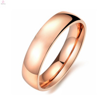Женщин Бесплатный Образец Из Нержавеющей Стали Металл Розовое Золото Течет Уплотнительное Кольцо Ювелирных Изделий