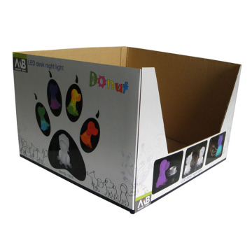 Custom Counter Corrugated Display Paper Box