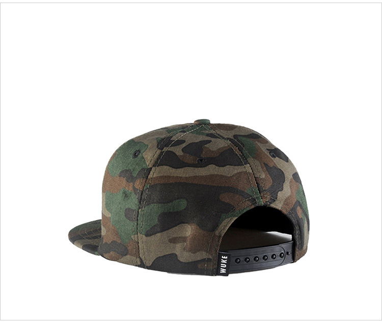 Camouflage hip-hop hat baseball hat man (6)
