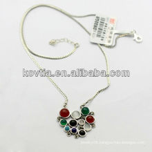 Wholesale antique 925 sterling silver jewelry necklace for women