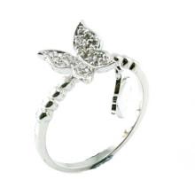China al por mayor joyería nupcial de imitación como regalo de bodas de amor 925 joyería de plata esterlina anillo de dedo de moda (r10360)
