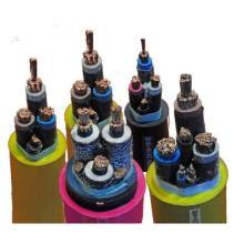 Гибкий гибкий кабель с резиновым кабелем / резиновой оболочкой