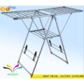 New design modern custom flooring adjustable metal retail shop garment display rack