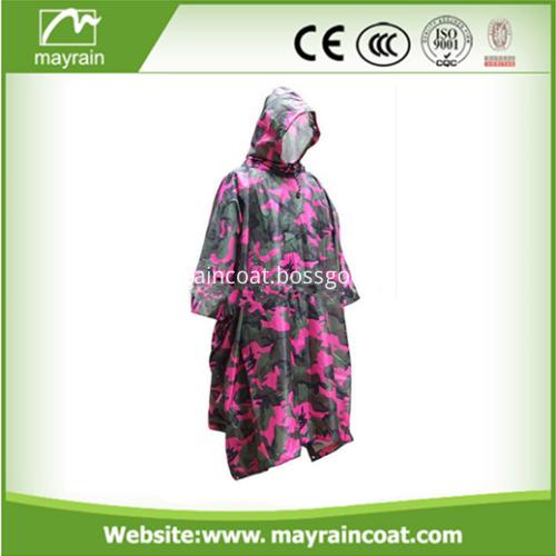 Camouflage Rain Poncho