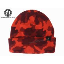 Chapeau Bonnet Réversible en Acrylique