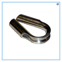 Peças de aço inoxidável para dedal de tubo, acabamento polido