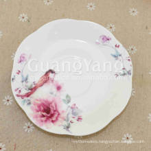 Volume Supply Porcelain Enameled Custom Dinner Plate