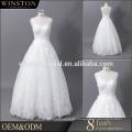 China liefern alle Arten der neuen Ankunft Schatzausschnitt-Hochzeitskleid