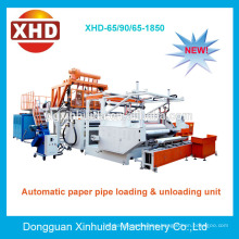 Low cost automatic pallet cast stretch film machine for pe film