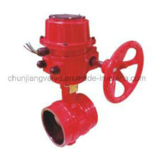 Fire Protection Clamp Signal Butterfly Valve