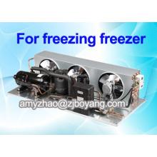 congelador de refrigerador médico de laboratorio con unidades de condensación de refrigeración de refrigerante R404a