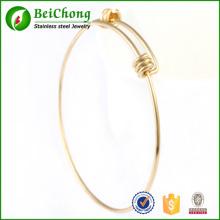 Top qualité en acier inoxydable Bracelet femmes bijoux charme réglable Bracelets Bangle