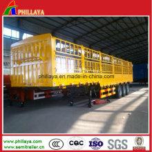 Bulk Cargo / Cattle / Horse Truck Semi Trailer Livestock Transport