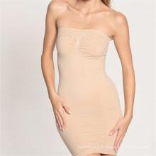 Ladies Tummy Control Tube Shaper Body Dress Sous-vêtements Slip Shapewear