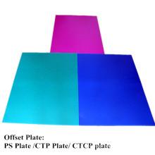Китай Отличная офсетная Ctcp плита синий цвет