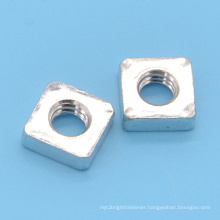 Square Furniture Nut with Zinc Plated (CZ391)