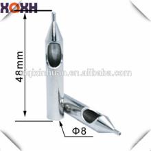 Proveedor de China Alta calidad permanente punta de la aguja de maquillaje, tatuaje muebles de plata aguja consejos